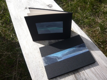 I went to North Uist and was taught how to make folded books by Corrina Krause, bookbinder. 2013