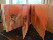 Rajasthan concertina sketchbook 2013.