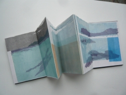 Barra, folded tissue drawings.